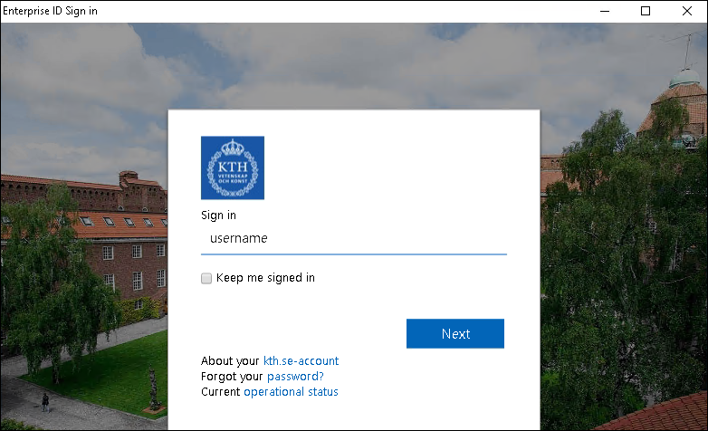 Sign in to Adobe CC App | KTH Intranet
