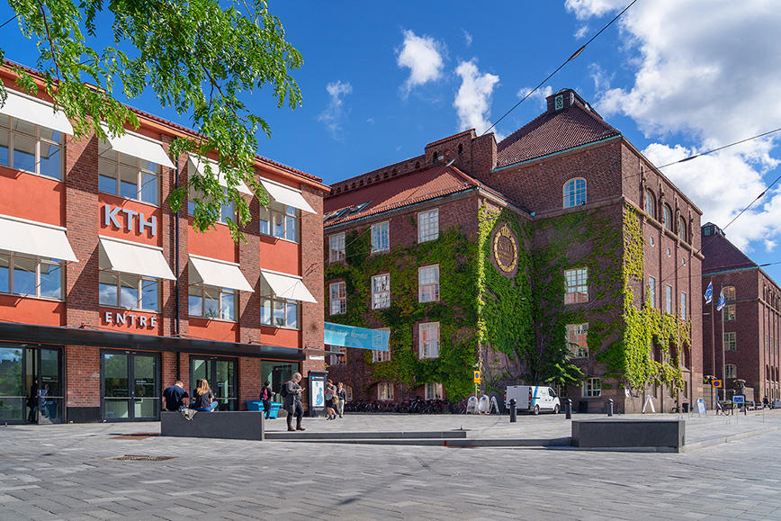 KTH Entré at KTH Campus.
